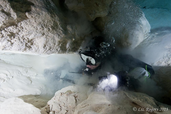 November: Restriction in Tank Cave