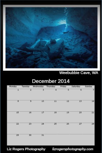 2014 Calendar layout